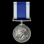Royal Navy Long Service and Good Conduct Medal, GVI 1st type bust, awarded to Leading Seaman E.G....
