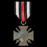Germany - Imperial: Honour Cross 1914-1918 with Swords for Combatants, reverse maker marked 'R.V....