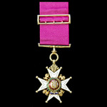 The Most Honourable Order of the Bath, Companion, C.B., Military Division, breast badge, gold and...