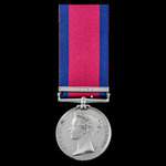 Military General Service Medal 1793-1814, 1 Clasp: Egypt, awarded to Corporal later Sergeant Samu...