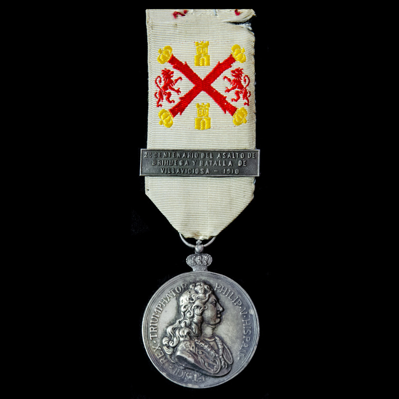 Spain: Medal for the 200th An.   London Medal Company