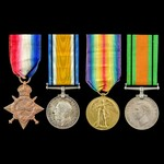 Great War Western Front and Second World War Home Front group awarded to Warrant Officer 2nd Clas...