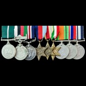 The exceptional Second World War Italian Campaign Military Medal group awarded to Naik Munawar Kh...