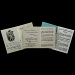 Second World War Chindit Association Membership Card and Booklet issued for an Honorary Member to...