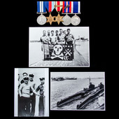 """The exceptional Second World War Submarine Service """"Turbulent"""" Victoria Cross Commander Second Co..."""