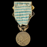 France: Syria-Cilicia Commemorative Medal, 30mm in bronze, two clasps, Levant and Levant 1925-1926.