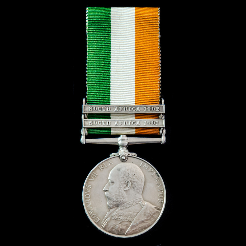 King's South Africa Medal 190.   London Medal Company