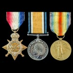 Great War Officer's 1914-1915 trio awarded to 2nd Lieutenant D.C. Maclean, Rifle Brigade, formerl...