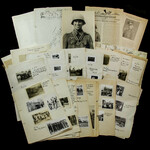 Germany – Third Reich: An intriguing set of documents relating to Knights Cross winner and Holder...