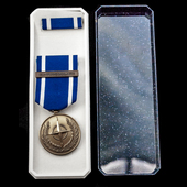 Nato Medal for Former Yugoslavia, French issue with 'EX-YOUGOSLAVIE' clasp, with original box of ...