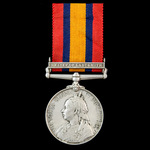 Relief of Ladysmith operations Spearman's Camp January 1900 casualty Queen's South Africa Medal 1...