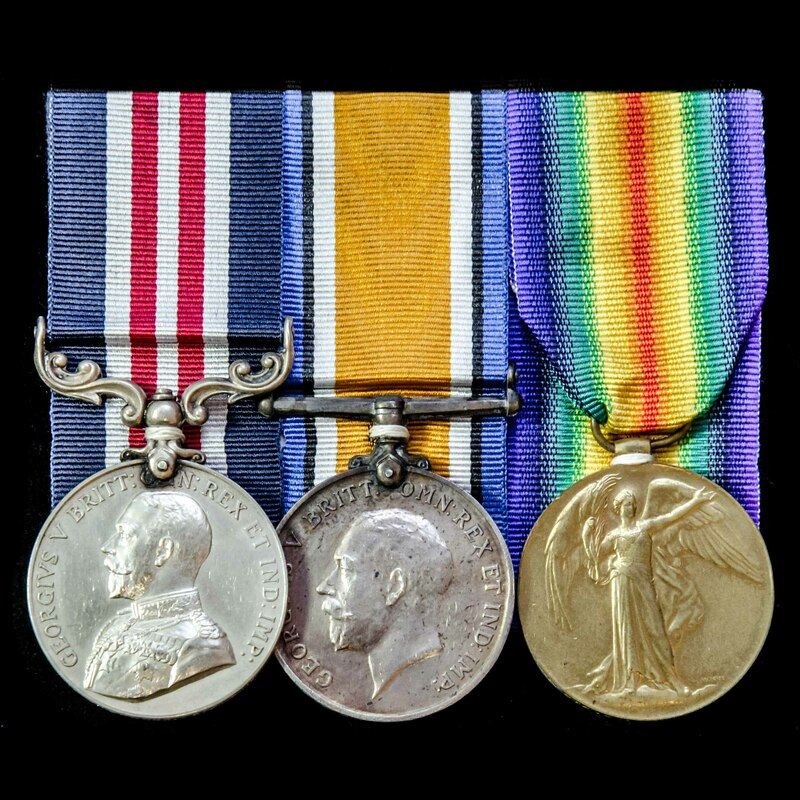 A Canadian Great War Battle o. | London Medal Company