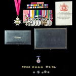 The exceptional and unique Military Secretary India 1947 Order of the Bath, Fall of France Saint ...