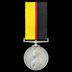 Omdurman Charger's Queen's Sudan Medal 1896-1898, awarded to Sergeant later Squadron Sergeant Maj...