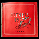 Germany - Souvenir Colour Pictorial Card Album titled 'Olympia 1952' 2nd Volume, card covers, 93 ...