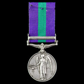 General Service Medal 1918-1962, GVI, 1 Clasp: Palestine 1945-48 awarded to Lance Corporal E. Man...