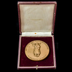 France: Commemorative Medallion of the 50th Anniversary of the termination of the Great War 1968,...