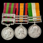 India Punjab Frontier and Tirah, and South Africa Boer War Defence of Ladysmith group awarded to ...