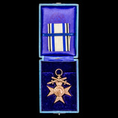 Germany – Imperial – States: Bavaria Military Merit Cross 3rd Class with Crown and Swords, on Com...