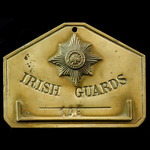Irish Guards Great War first Company Sergeant Major Military Cross Winner's Regimental Brass Bed ...