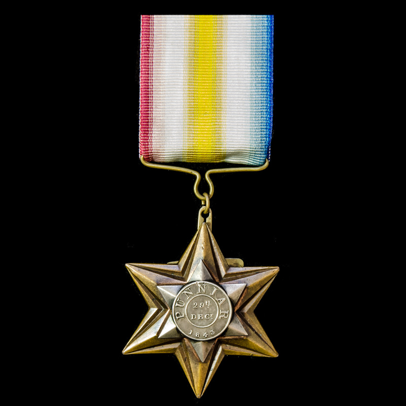 Punniar Star 1943, fitted wit. | London Medal Company