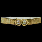 British Army - Rare Edwardian period 9th Lancers 'Nurses' Belt Buckle, circa 1905, complete with ...