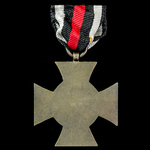 Germany - Imperial: Honour Cross 1914-1918 without swords for non-combatants, maker marked 'W.K.'...