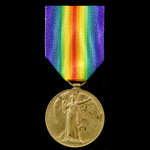 Victory Medal awarded to Driver S.E. Kidd, Royal Field Artillery.