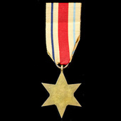 Africa Star with 1st Army Clasp.