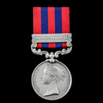 The relatively important India General Service Medal 1854-1895, 1 Clasp: Northwest Frontier, awar...