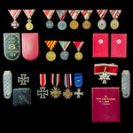 Germany – Third Reich: The Superb and Complete Norwegian Campaign Iron Cross 2nd Class and Iron C...