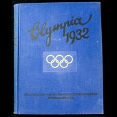 Germany: Olympics Propaganda Souvenir Book / black and white and colour Photo Card Album titled '...