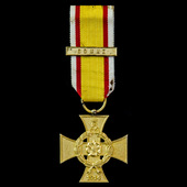 Germany – Imperial – Lippe-Detmold: 1914 War Merit Cross, with unofficial clasp 'Somme'