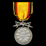 Germany – Imperial – Reuss: Silver Medal of Merit with Swords.