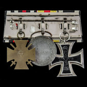 Germany - Imperial German Empire, and Baden: Group of 3 awards comprising: Iron Cross 1914 2nd Cl...