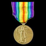 Great War 172nd Tunnelling Company Third Battle of Ypres casualty Victory Medal awarded to Sergea...