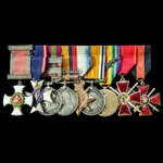The very fine and interesting Great War Western Front New Years Honours 1918 Staff Officer's Dist...