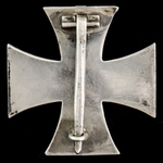 Germany - Imperial: Iron Cross 1914, 1st Class, wide rounded pin, maker marked 'KO' for Koeniglic...