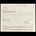 Germany – Third Reich: A Certificate for the Award of the Small Silver Bravery Medal of the Pogla...