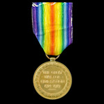 Victory Medal awarded to Private R. Hart, Devonshire Regiment who saw service on the Western Fron...