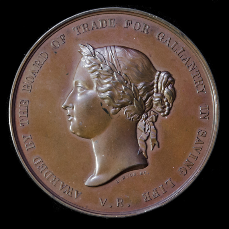 Atlantic Bay of Biscay Rescue. | London Medal Company