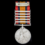 Queen's South Africa Medal, 5 Clasps: Cape Colony, Orange Free State, Johannesburg, Diamond Hill,...