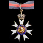 The Most Distinguished Order of Saint Michael and Saint George, Companion, C.M.G., breast badge c...