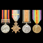 An interesting South Africa Boer War and Great War group awarded to Captain The Honourable A.E.H....