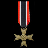 Germany – Third Reich: An unusual War Merit Cross 2nd Class without swords and its accompanying a...