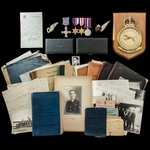 The extremely well documented Second World War Bomber Command 5 Group Lancaster Navigator's Disti...