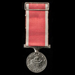 A Saint Jean D'Acre Medal in Silver, a contemporary sand cast copy, in silver as for junior offic...