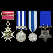 The good Jubilee Honours 1897 Companion of the Military Division of the Order of the Bath, Sudan ...