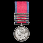 A good Military General Service Medal 1793-1814, 4 Clasps: Vittoria, Pyrenees, Orthes, Toulouse, ...