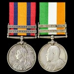 A South Africa Boer War Pair awarded to Private H. Williams, 3rd Battalion, East Kent Regiment – ...